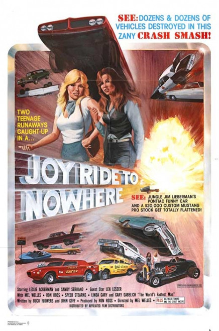 Joyride to Nowhere Movie Poster Print (27 x 40) - Item # MOVCB91043