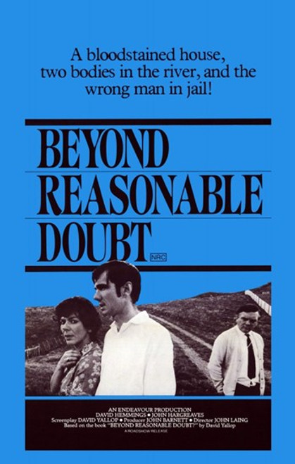 Beyond Reasonable Doubt Movie Poster (11 x 17) - Item # MOV234940