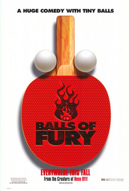 Balls of Fury Movie Poster (11 x 17) - Item # MOV400604