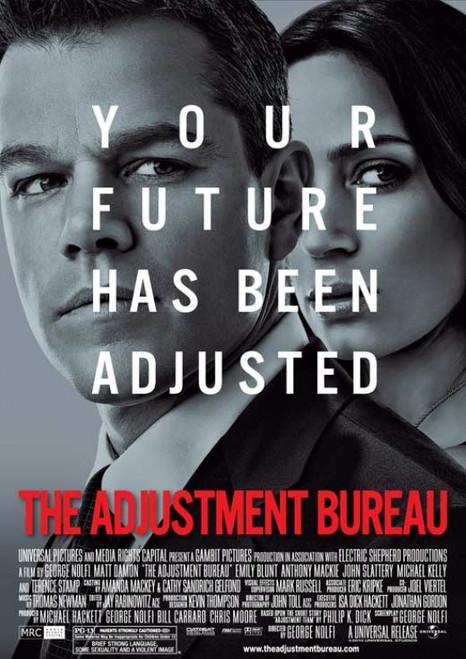 The Adjustment Bureau Movie Poster Print (27 x 40) - Item # MOVIB88873