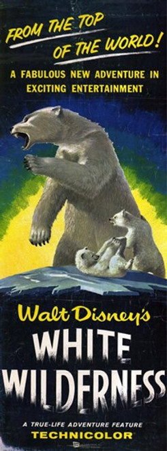 White Wilderness Movie Poster (11 x 17) - Item # MOV221617