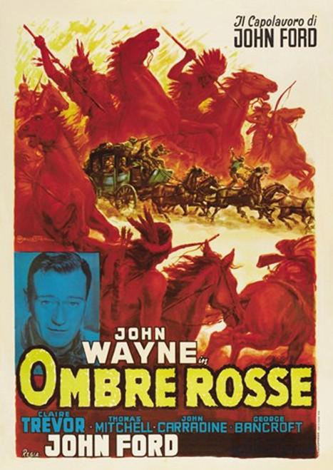 Stagecoach Movie Poster (11 x 17) - Item # MOV412992