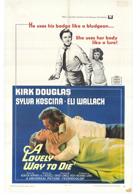 Lovely Way to Die Movie Poster Print (27 x 40) - Item # MOVEH3272