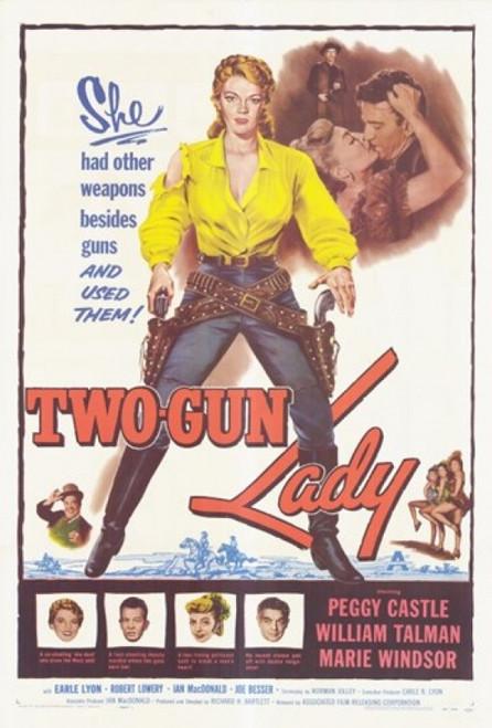 Two-Gun Lady Movie Poster (11 x 17) - Item # MOV293738