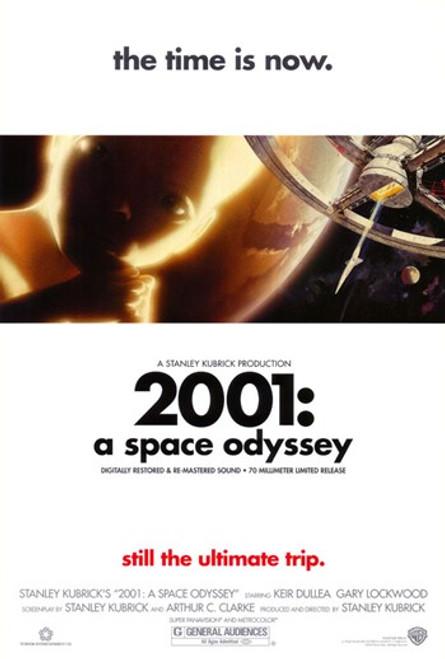 2001 A Space Odyssey Movie Poster (11 x 17) - Item # MOV400579