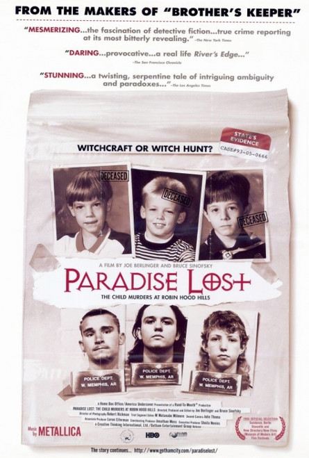 Paradise Lost: The Child Murders at Robin Hood Hills Movie Poster Print (27 x 40) - Item # MOVAF7387