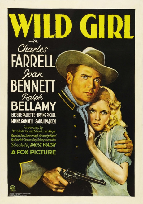 Wild Girl Movie Poster Print (27 x 40) - Item # MOVEI2416