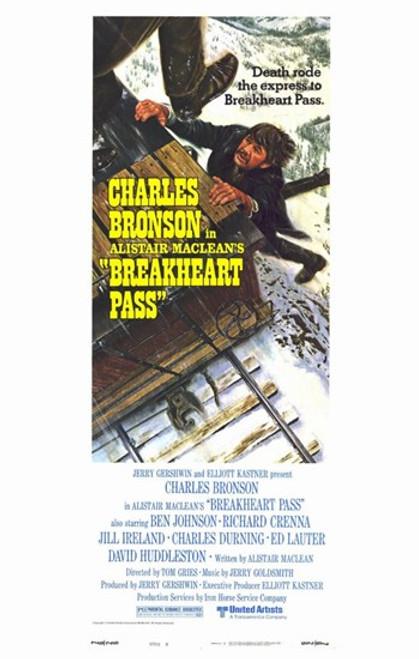 Breakheart Pass Movie Poster (11 x 17) - Item # MOV221646
