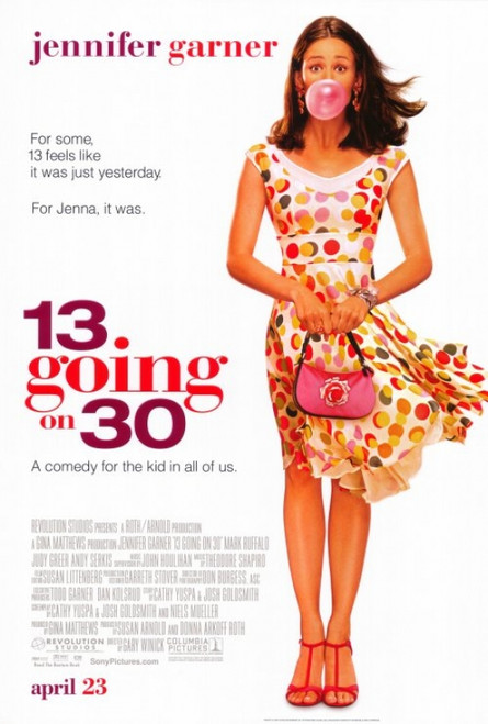 13 Going On 30 Movie Poster Print (27 x 40) - Item # MOVGF2205
