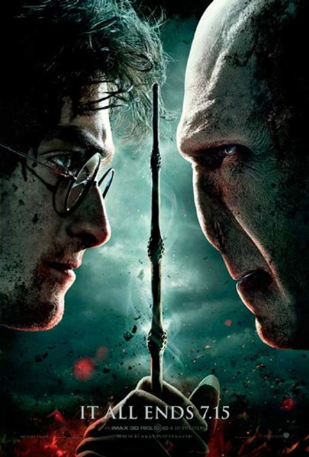 Harry Potter and the Deathly Hallows Part II Movie Poster (11 x 17) - Item # MOVIB83783