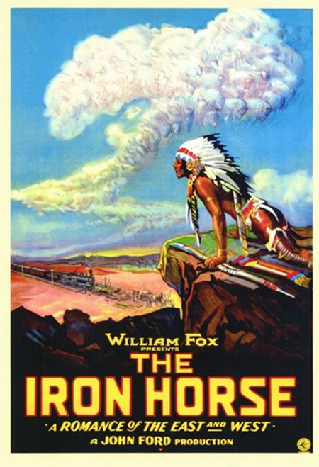 The Iron Horse Movie Poster (11 x 17) - Item # MOV143171