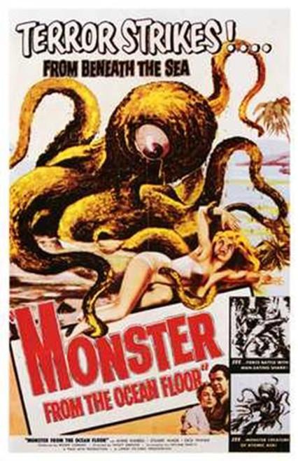 Monster from the Ocean Floor Movie Poster (11 x 17) - Item # MOV197222