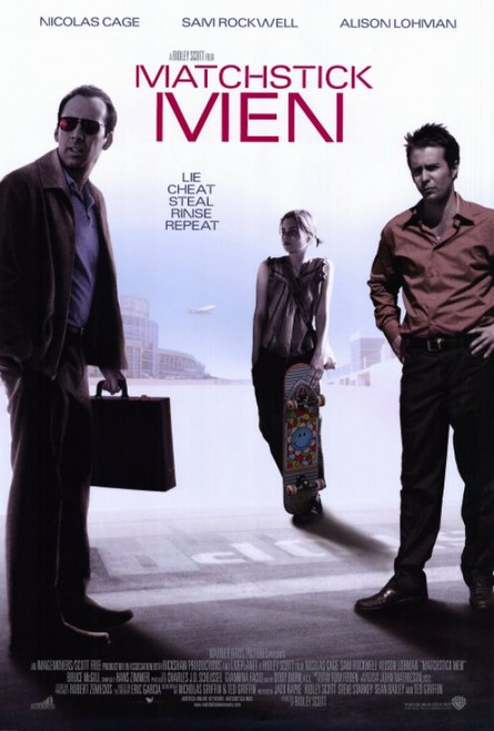 Matchstick Men Movie Poster Print (27 x 40) - Item # MOVGF0402