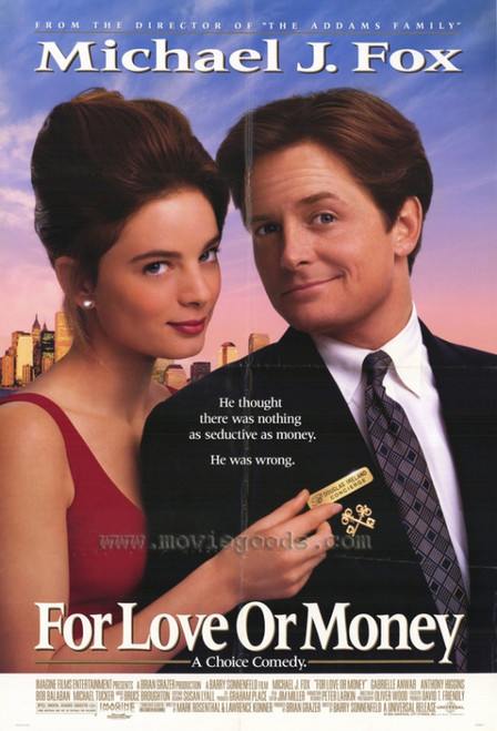 For Love or Money Movie Poster Print (27 x 40) - Item # MOVCH8350