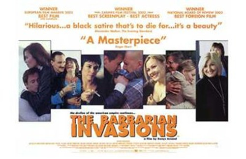 The Barbarian Invasions Movie Poster (17 x 11) - Item # MOV200960