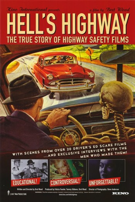 Hell's Highway The True Story of Highway Safety Films Movie Poster (11 x 17) - Item # MOV300763