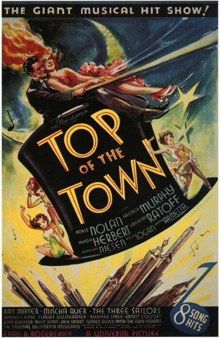 Top of the Town Movie Poster Print (27 x 40) - Item # MOVCH3612