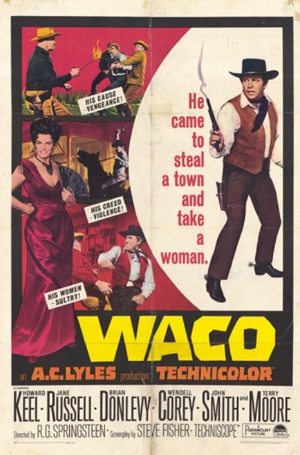 Waco Movie Poster (11 x 17) - Item # MOV254966