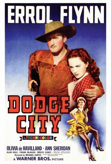 Dodge City Movie Poster Print (27 x 40) - Item # MOVIF7171