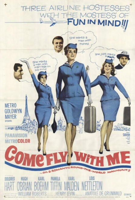 Come Fly With Me Movie Poster Print (27 x 40) - Item # MOVCH3223