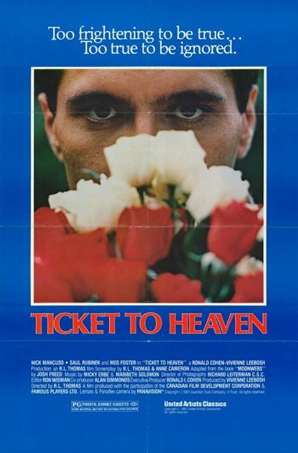 Ticket to Heaven Movie Poster (11 x 17) - Item # MOV248579