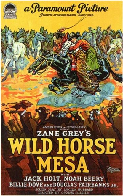Wild Horse Mesa Movie Poster (11 x 17) - Item # MOV200110