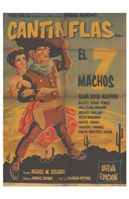The Seven Machos Movie Poster (11 x 17) - Item # MOV227782