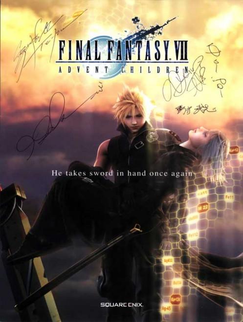 Final Fantasy VII: Advent Children Movie Poster Print (27 x 40) - Item # MOVEI8996