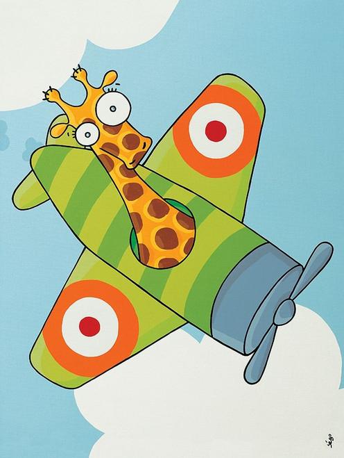 _a Plane Pour Moi I Poster Print by Sego - Item # VARPDXBraun1105