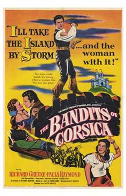 The Bandits of Corsica Movie Poster (11 x 17) - Item # MOV195552