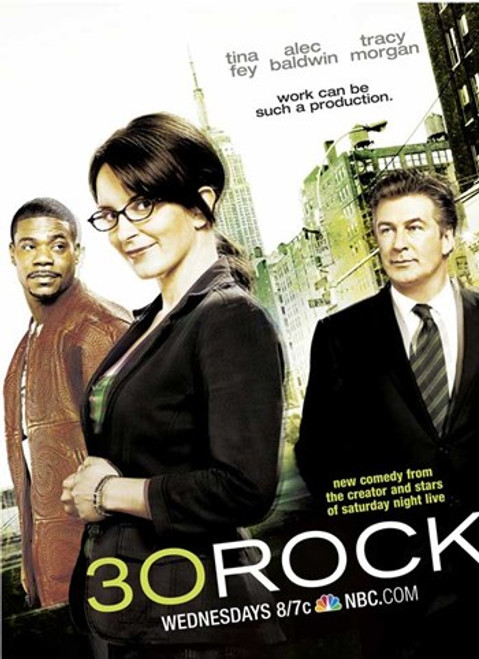 30 Rock - Style D Movie Poster (11 x 17) - Item # MOV509048