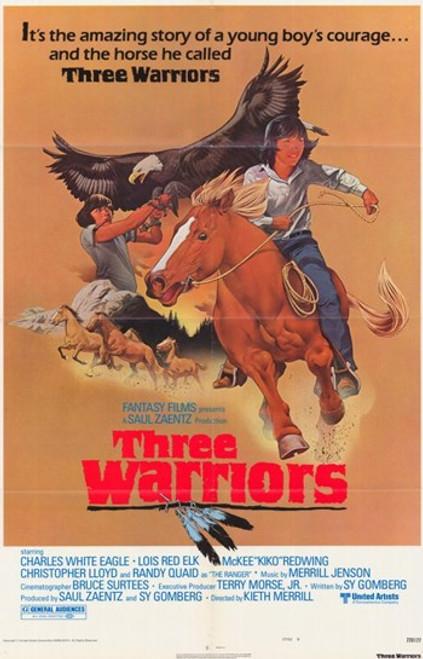 Three Warriors Movie Poster (11 x 17) - Item # MOV232819
