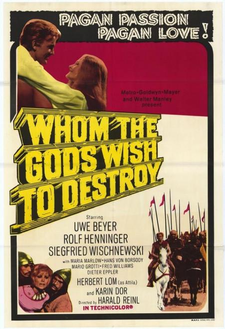 Whom the Gods Wish to Destroy Movie Poster Print (27 x 40) - Item # MOVIF0375