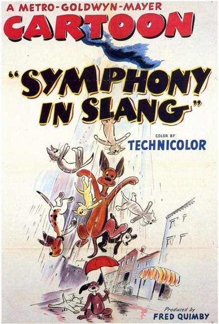 Symphony in Slang Movie Poster Print (27 x 40) - Item # MOVIF9295