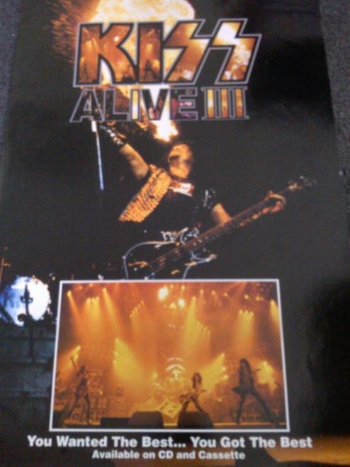 Kiss Alive III Poster - Item # RAR99914692