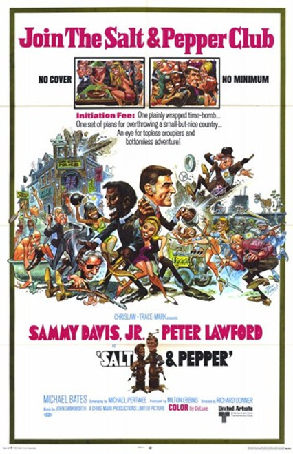 Salt and Pepper Movie Poster (11 x 17) - Item # MOV227673