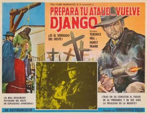Django Sees Red Movie Poster (17 x 11) - Item # MOV377439