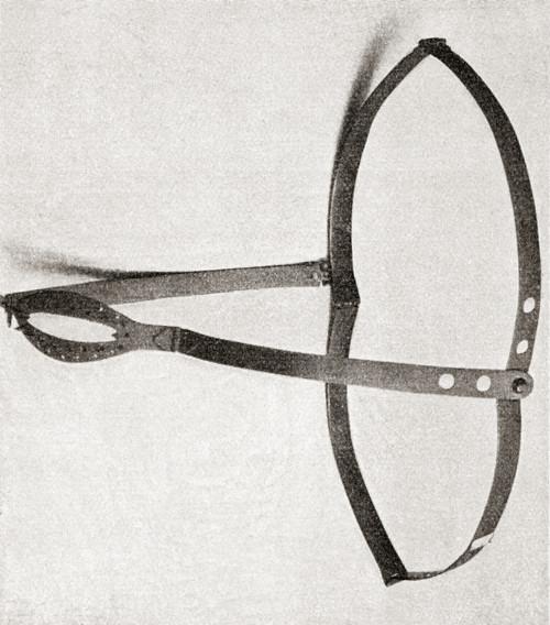 15th Century Iron Chastity Belt. From Illustrierte Sittengeschichte Vom Mittelalter Bis Zur Gegenwart By Eduard Fuchs, Published 1909. Poster Print by Ken Welsh / Design Pics - Item # VARDPI2430474