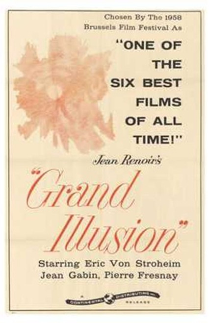 Grand Illusion Movie Poster (11 x 17) - Item # MOV193468