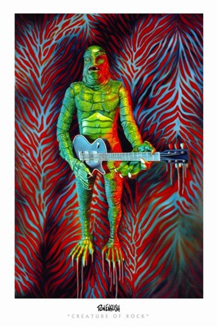 Creature of Rock Movie Poster (11 x 17) - Item # MOV310308