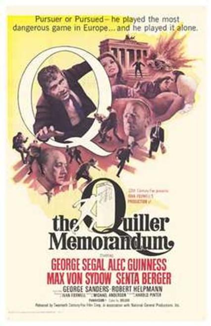 The Quiller Memorandum Movie Poster (11 x 17) - Item # MOV260348
