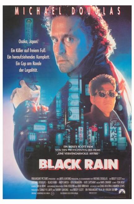 Black Rain Movie Poster (11 x 17) - Item # MOV377987