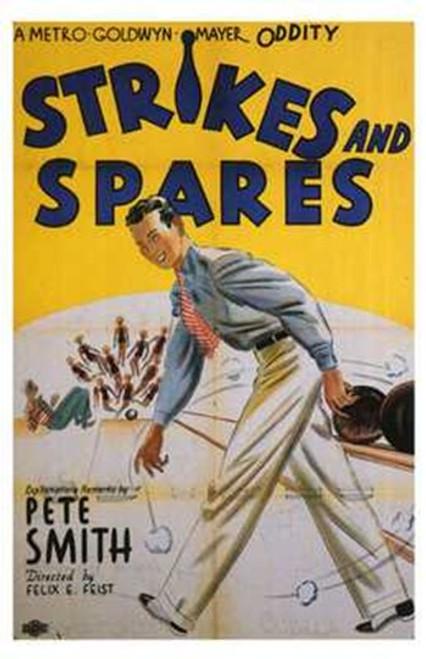 Strikes and Spares Movie Poster (11 x 17) - Item # MOV196886
