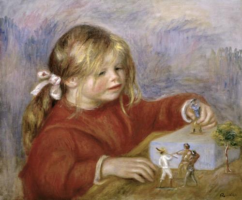 Claude Renoir Playing Poster Print by Pierre-Auguste Renoir - Item # VARPDX279626