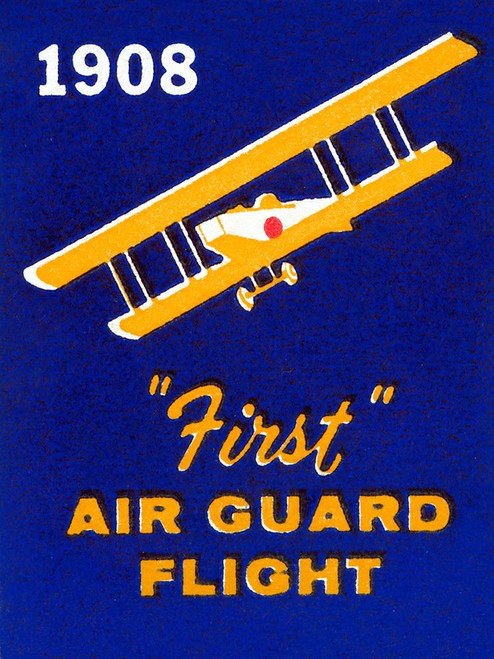 1908 First Air Guard Flight Poster Print by Retrotravel Retrotravel - Item # VARPDX376466
