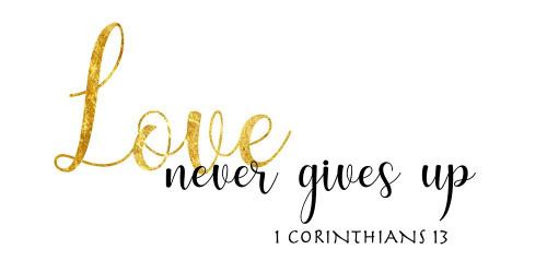 1 Corinthians 13 Poster Print by CAD Designs CAD Designs - Item # VARPDX40838