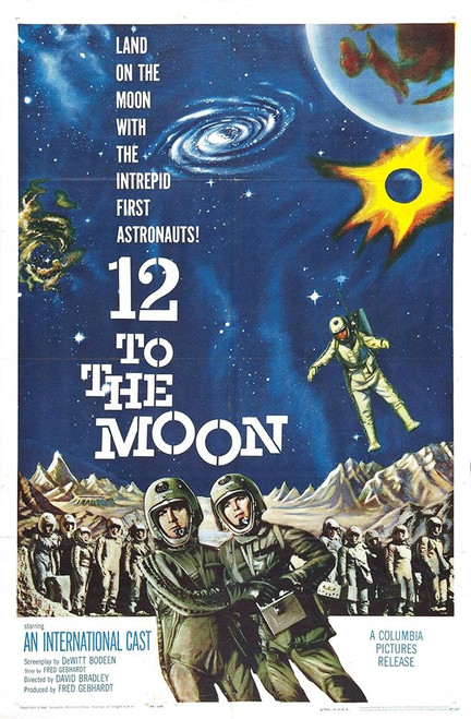 12 to the Moon Poster Print by Hollywood Photo Archive Hollywood Photo Archive - Item # VARPDX488422