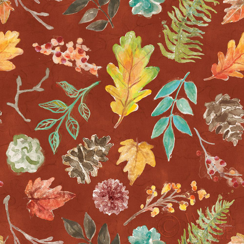 Autumn Friends Pattern IID Poster Print by Mary Urban - Item # VARPDX49378