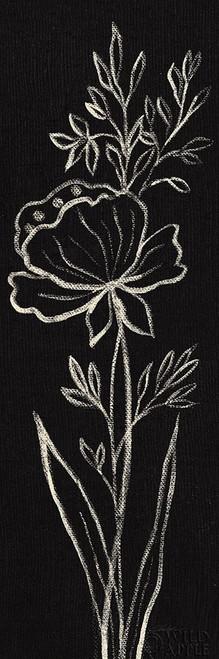 Black Floral III Crop Poster Print by Silvia Vassileva - Item # VARPDX49792
