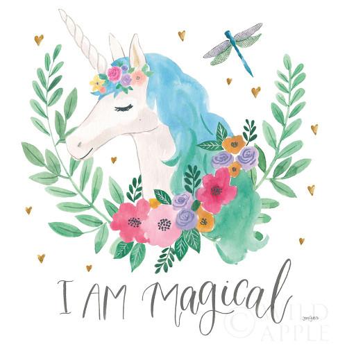 Magical Friends IV Dragonfly Poster Print by Jenaya Jackson - Item # VARPDX49964
